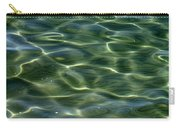 Waves On Lake Tahoe Carry-all Pouch by Carol Groenen