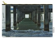 Waves Under The Clearwater Pier 60 Carry-all Pouch