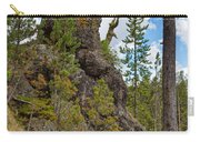 Waving Rock At Yellowstone Carry-all Pouch