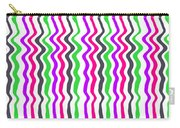 Wavy Stripe Carry-all Pouch by Louisa Hereford