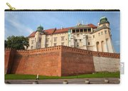 Wawel Royal Castle In Krakow Carry-all Pouch