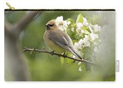 Waxwing In A Dream Carry-all Pouch