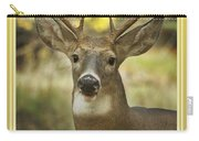 Way To Go Dad Congratulations On A Successful Deer Hunt Carry-all Pouch