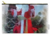 Wdw Santa Photo Art Carry-all Pouch