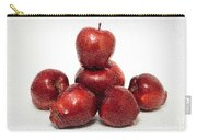 We Are Family - 6 Red Apples - Fresh Fruit - An Apple A Day - Orchard Carry-all Pouch