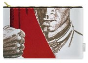 We Carry The Flag Of October Across The Centuries Carry-all Pouch
