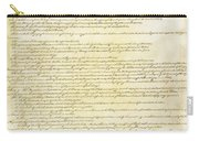 We The People Constitution Page 2 Carry-all Pouch