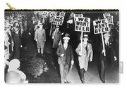 We Want Beer Carry-all Pouch