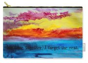 We Were Together I Forget The Rest - Quote By Walt Whitman Carry-all Pouch