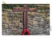 We Will Remember Carry-all Pouch by Adrian Evans