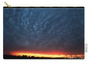 Weaking Cells Made For A Perfect Mammatus Sunset Carry-all Pouch
