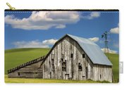 Weathered Barn Palouse Carry-all Pouch by Carol Leigh