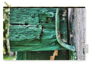 Weathered Green Paint Carry-all Pouch