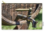 Weathered Tap And Barrel Carry-all Pouch by Paul Ward