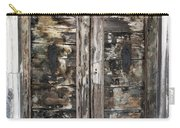 Weathered Wood Door Venice Italy Carry-all Pouch