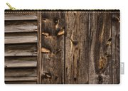 Weathered Wooden Abstracts - 3 Carry-all Pouch
