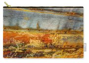 Weathered Wooden Boat - Abstract Carry-all Pouch