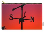 Weathervane At Sunset Carry-all Pouch