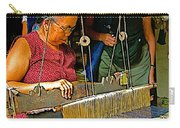 Weaver At Her Loom In Tachilek-burma Carry-all Pouch