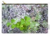 Web And Clover Carry-all Pouch