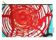Web Of Life Original Painting Carry-all Pouch