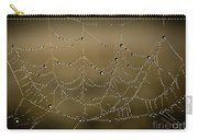 Web Of Pearls Carry-all Pouch