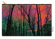 Webbs Woods Sunset Carry-all Pouch