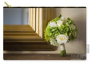 Wedding Bouquet And Mirror Carry-all Pouch