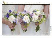 Wedding Bouquets Held By Bridesmaids Carry-all Pouch