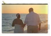 Wedding Couple Sunset Carry-all Pouch