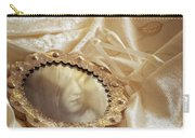 Wedding Dress And Mirror Carry-all Pouch