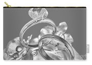 Wedding Ring Cake Gray Carry-all Pouch
