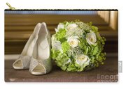 Wedding Shoes And Flowers Bouquet Carry-all Pouch