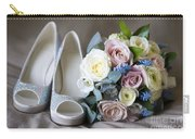 Wedding Shoes And Flowers Carry-all Pouch