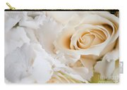 Wedding White Flowers Carry-all Pouch