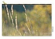 Weeds And Bokeh Carry-all Pouch