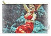 Weeki Wachee Mermaid Carry-all Pouch