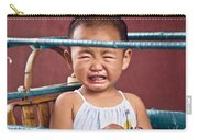 Weeping Baby In His Buggy Carry-all Pouch