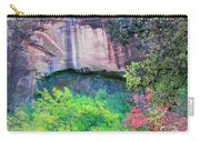 Weeping Rock At Zion National Park Carry-all Pouch