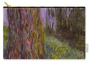 Weeping Willow And The Waterlily Pond Carry-all Pouch