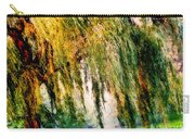 Weeping Willow Tree Painterly Monet Impressionist Dreams Carry-all Pouch
