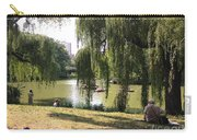 Weeping Willows In Central Park  Carry-all Pouch