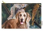 Weimaraner Art Canvas Print - A Streetcar Named Desire Movie Poster Carry-all Pouch