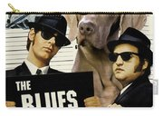 Weimaraner Art Canvas Print - The Blues Brothers Movie Poster Carry-all Pouch