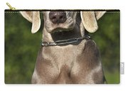 Weimaraner Hunting Dog Carry-all Pouch