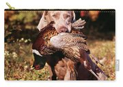 Weimaraner Hunting Dog Retrieving Ring Carry-all Pouch