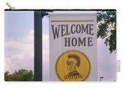 Welcome Home Banner Carry-all Pouch