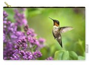 Welcome Home Hummingbird Carry-all Pouch