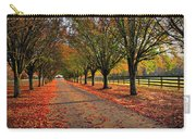 Welcome Home Bradford Pear Lined Drive-way Carry-all Pouch