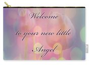 Welcome New Baby Greeting Card - Tulips Carry-all Pouch